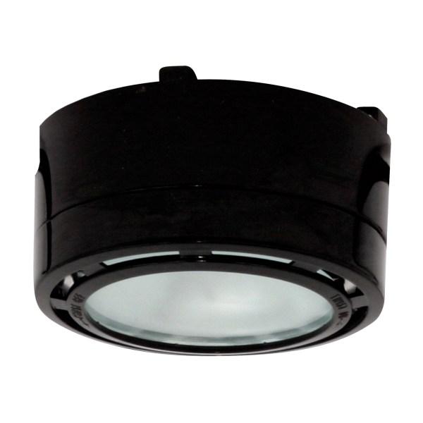 American Lighting . - Alp20bk- 12v Halogen Puck Light