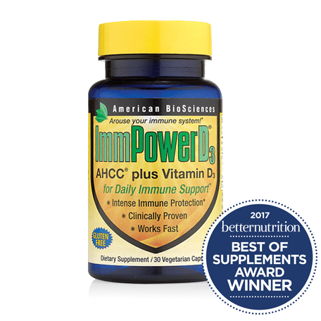 ImmPowerD3, Best Of Supplement Award 2017