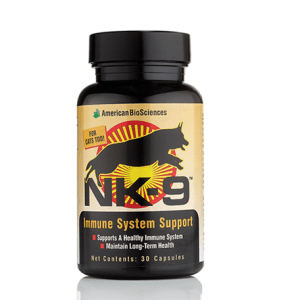 NK-9: An ideal pet product to support K9 immunity.