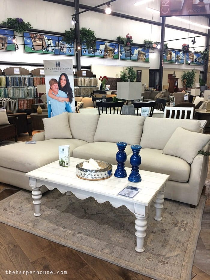 sofa mart dining tables best sleeper under 500 magnolia home furniture - real life opinions | the harper ...