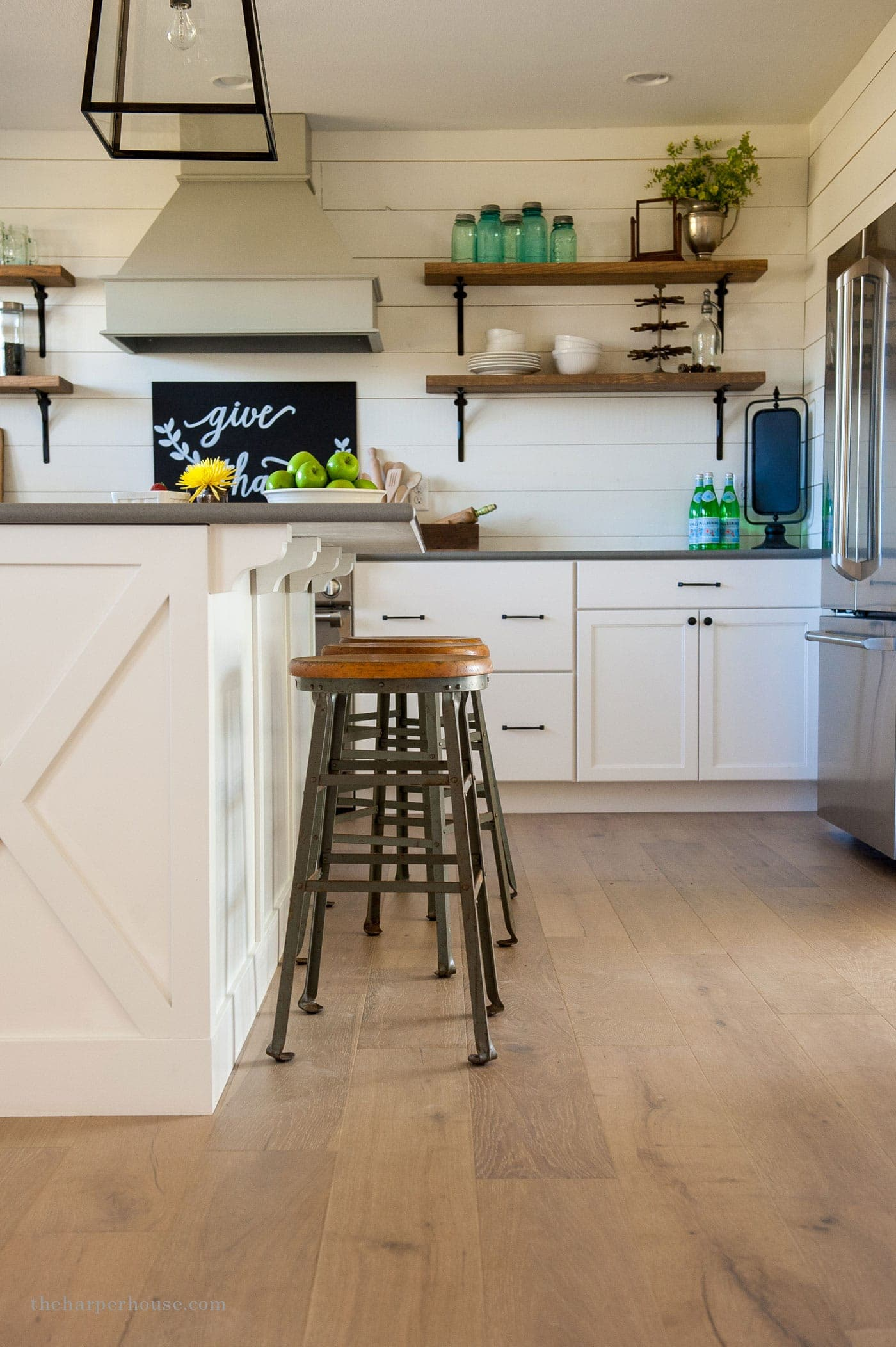 pull knobs for kitchen cabinets metal island farmhouse style details | the harper house