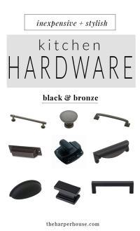 Kitchen Hardware: 27 Budget Friendly Options