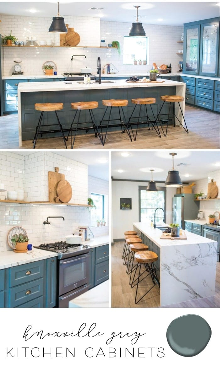 best kitchen paint storage carts for cabinets cabinet colors the harper house sharing and joanna s favorite farmhouse style