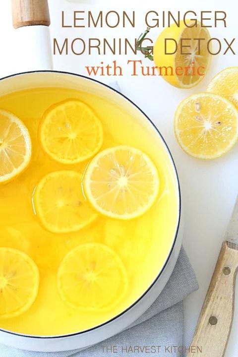 Lemon Ginger Detox Water