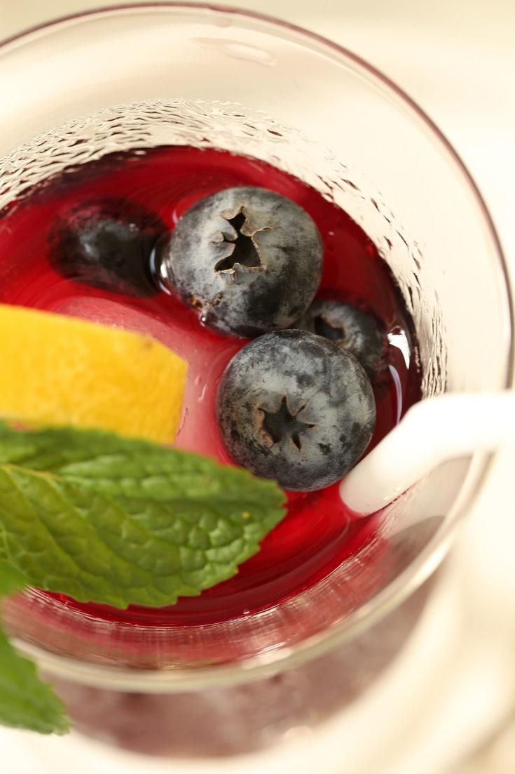 Antioxidant Rich Blueberry Green Tea  The Harvest Kitchen