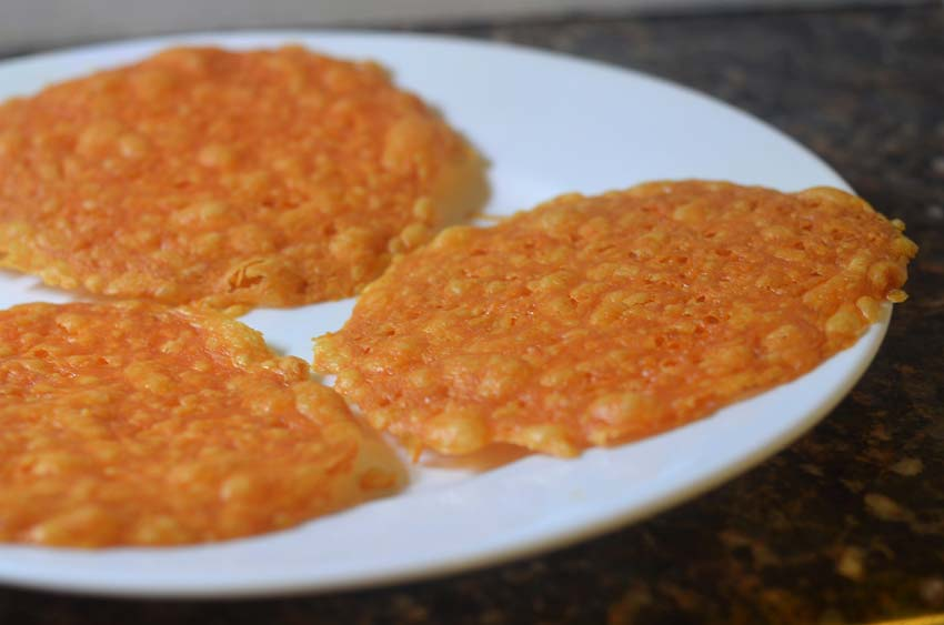 low carb cheese tostada gluten free grain free keto