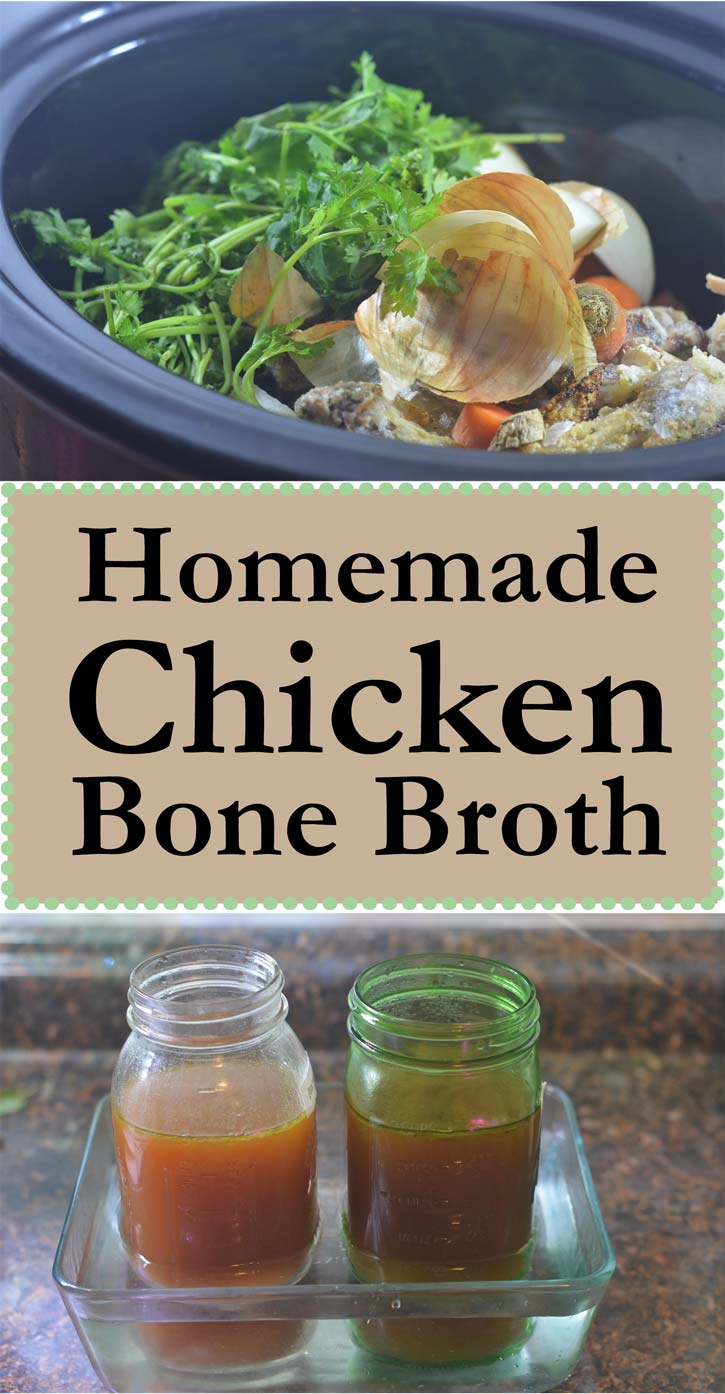 homemade chicken bone broth low carb gluten free grain free