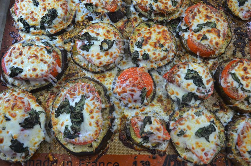 eggplant pizzas healthy gluten free grain free vegetarian low carb
