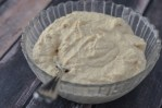 A simple and tasty vegan cashew cream sauce made with soaked raw cashews, lemon, salt and water. Perfect for every diet! Gluten-free, grain-free, dairy-free, vegan, vegetarian, Paleo, low-carb, ketogenic.