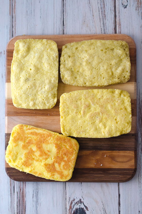 This microwave sandwich bread is great for whenever that sandwich urge strikes. Ready in just two minute, this bread is perfect for any type of sandwich you can imagine. Gluten-free, grain-free, Paleo, ketogenic and low-carb. Made with just six simple ingredients!