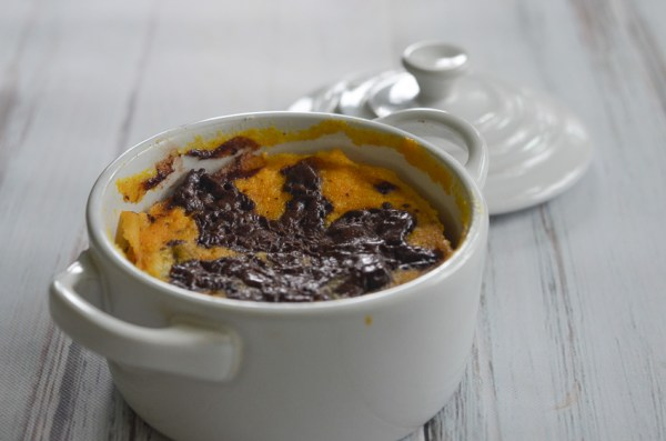 Looking for a 5 minute dessert? Then you're in the right place! This pumpkin chocolate chip mug cake is the perfect easy fall treat. Paleo, keto, low-carb, sugar-free, gluten-free, grain-free.