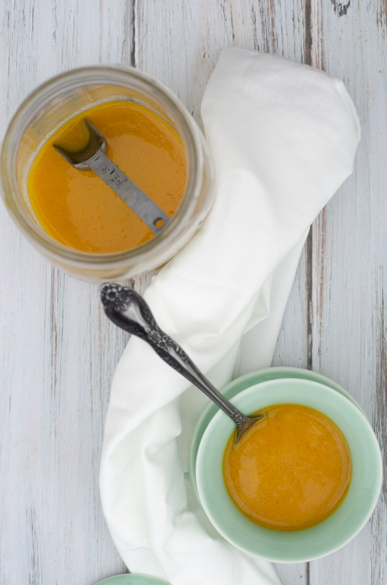 Ginger citrus dressing is the perfect addition to any salad or the best marinade! Paleo, vegan, low-carb, dairy-free.
