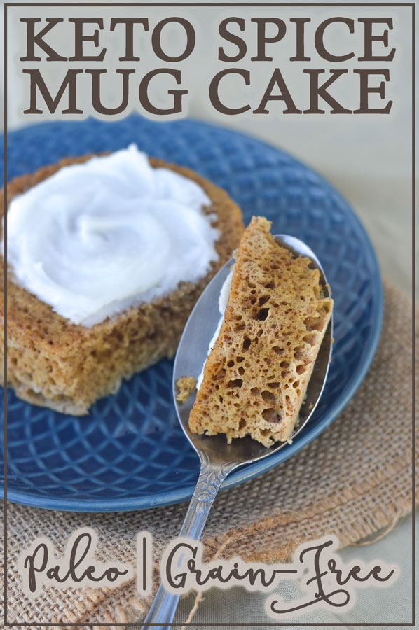 If you're looking for a flavorful dessert or breakfast, you are in the right place! This keto spice mug cake is quick and delicious. Low-carb, paleo, gluten-free, grain-free, dairy-free.