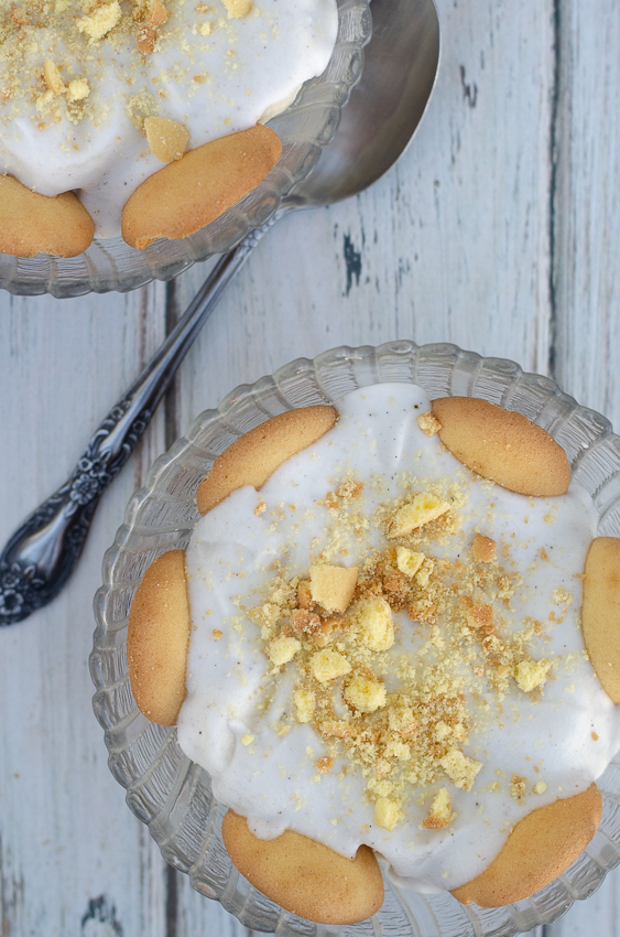 A delicious 5 minute dessert recipe, this banana pudding is no-bake and completely gluten-free, dairy-free and vegan.