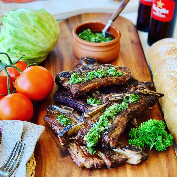 Bbq Beef Ribs - Asado Style