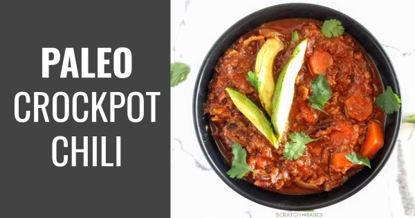 The Best Paleo Crockpot Chili