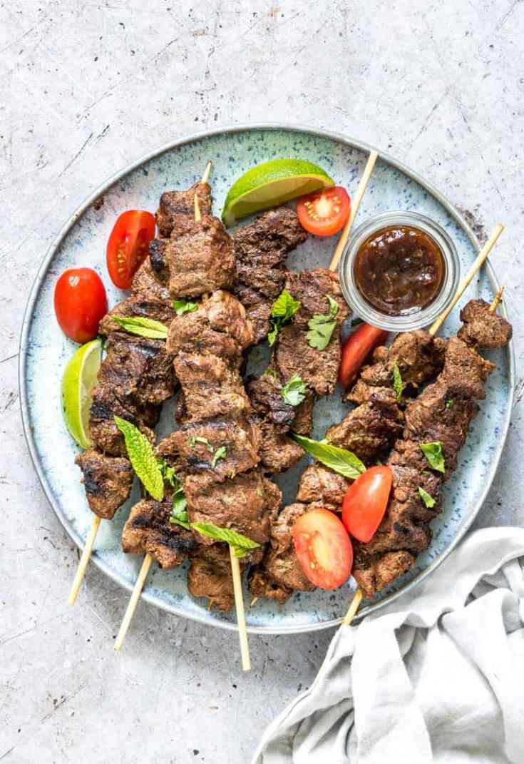 Grilled Lamb Kabobs Recipe