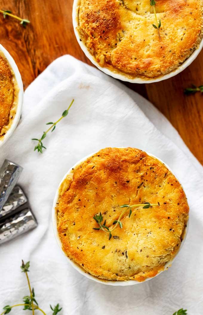 Keto Chicken Pot Pie - Low Carb Comfort Food!
