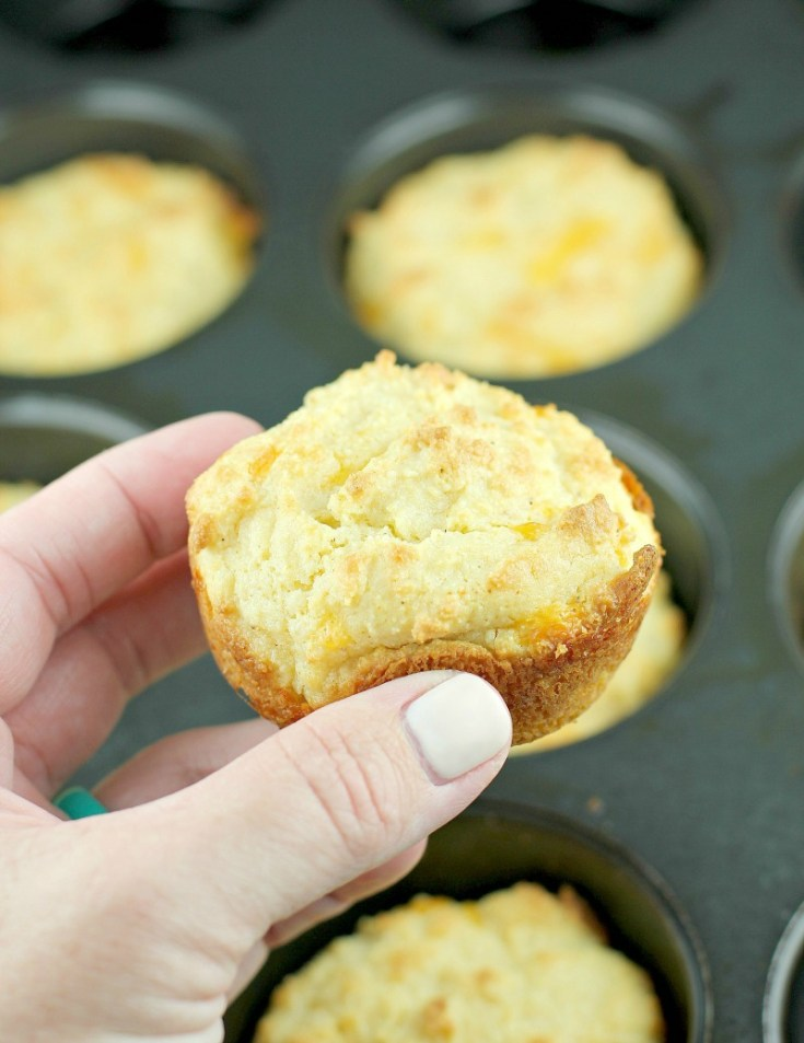 Low Carb Cheddar Bay Biscuits · Erica's Recipes