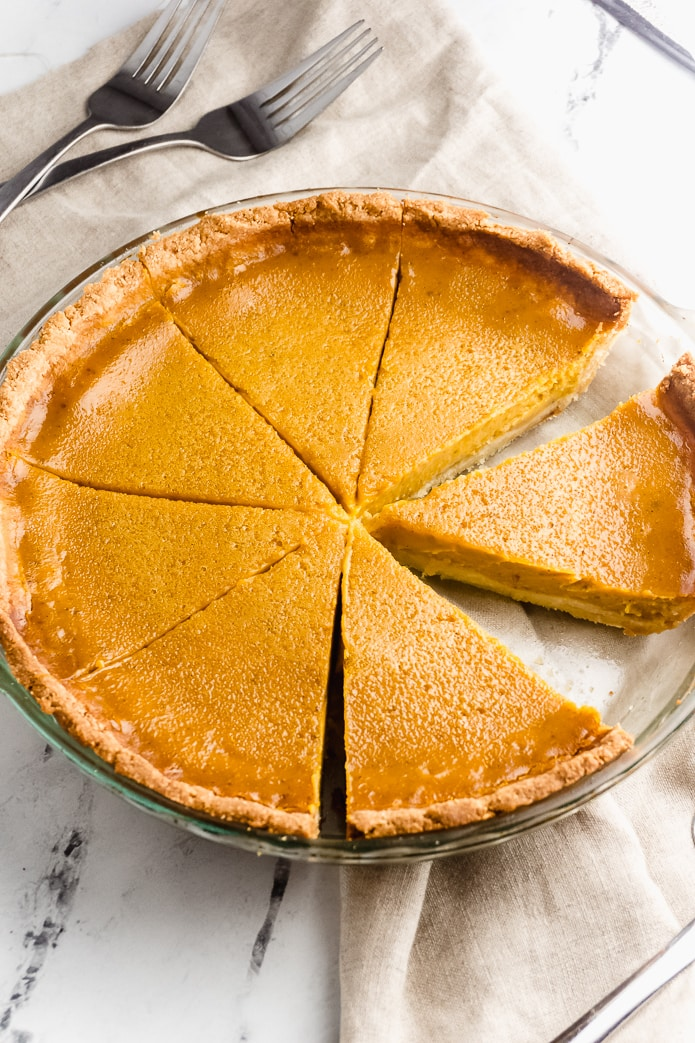 Keto Pumpkin Pie – Sugar Free