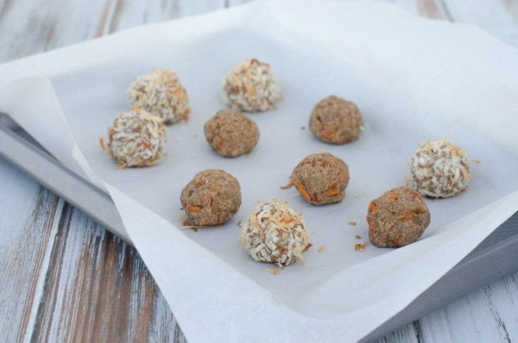 Carrot Cake Bites (Low-Carb, Paleo)