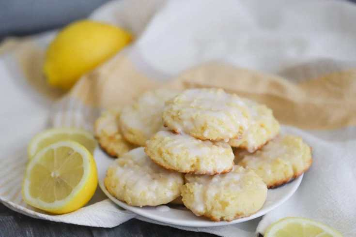 Thick and Soft Keto Lemon Cookies