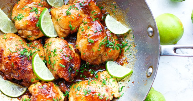 Spicy Honey Lime Chicken Thighs (Keto, Paleo, AIP, GAPS)