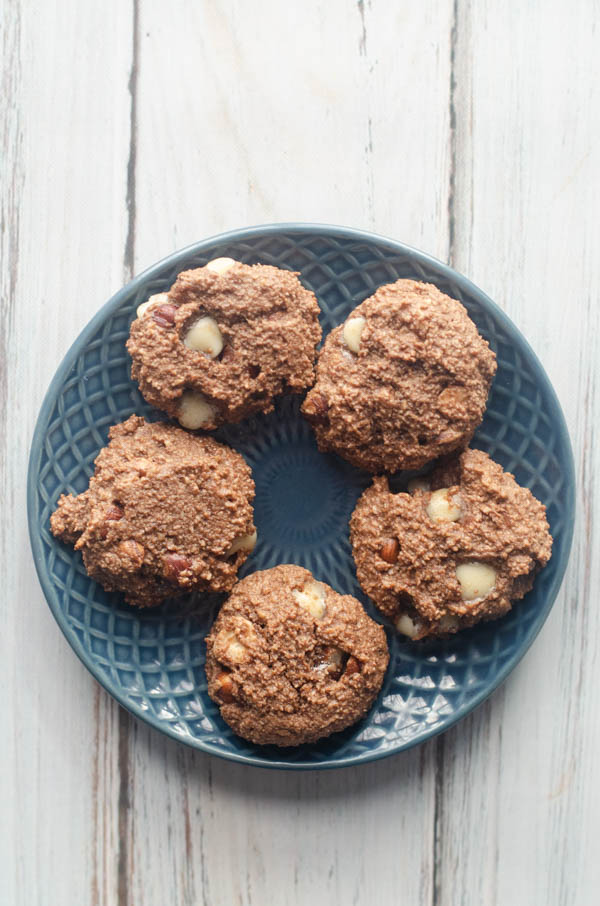 What could be better than nutella cookies?? These are easy, tasty and also gluten-free and grain-free!