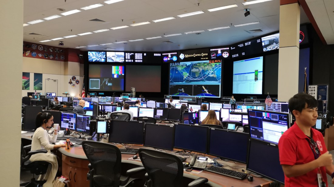 International Space Station mission control