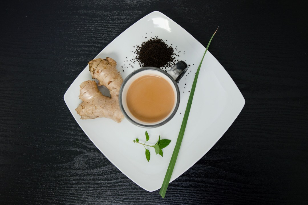 Chai with Ginger, Lemongrass, and Mint