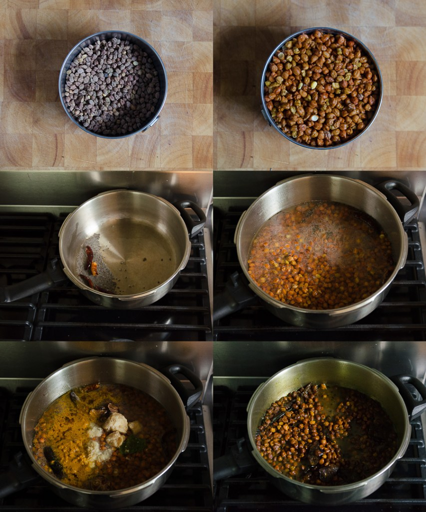 Spiced Red Chickpeas with Jaggery ~ Lal Chana