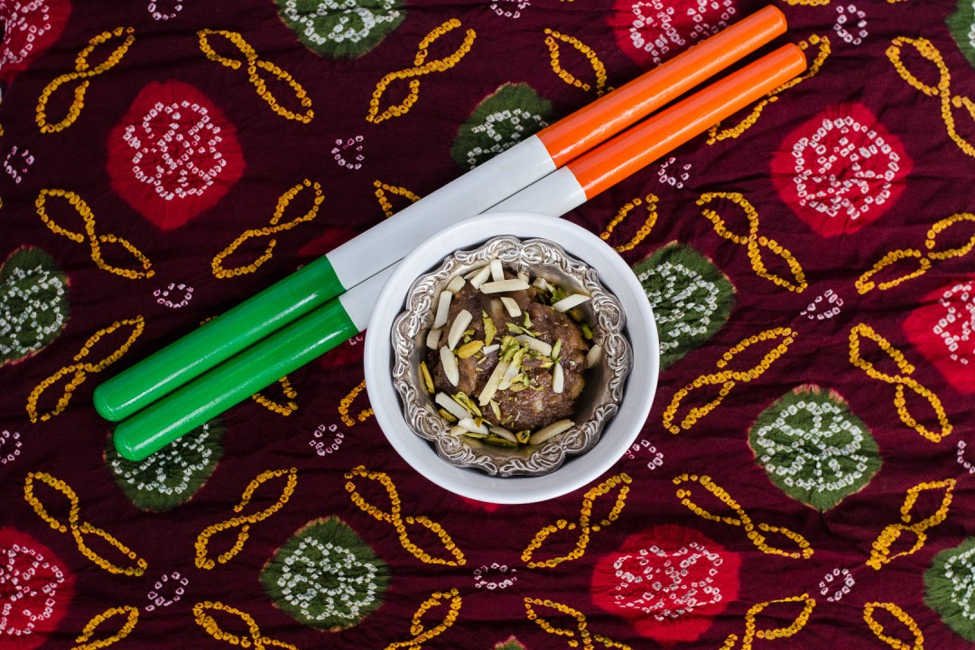 Water Chestnut Cardamom Halva ~ Singoda nu Shiro