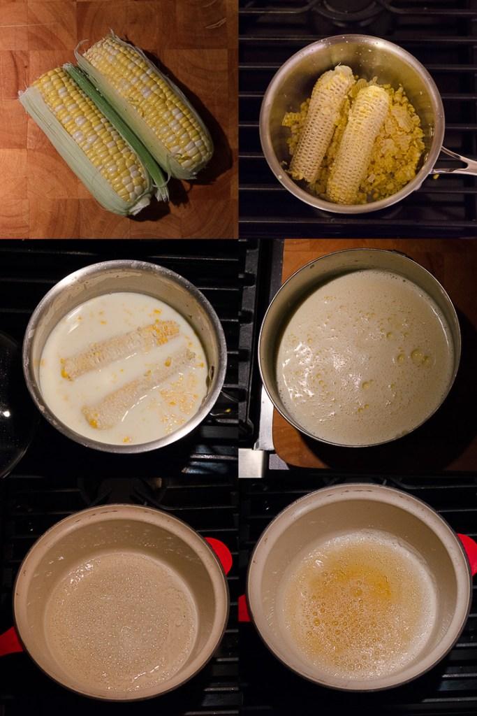 Arnold's Maize ~ Sweet Corn Ice Cream with Salted Caramel Swirl