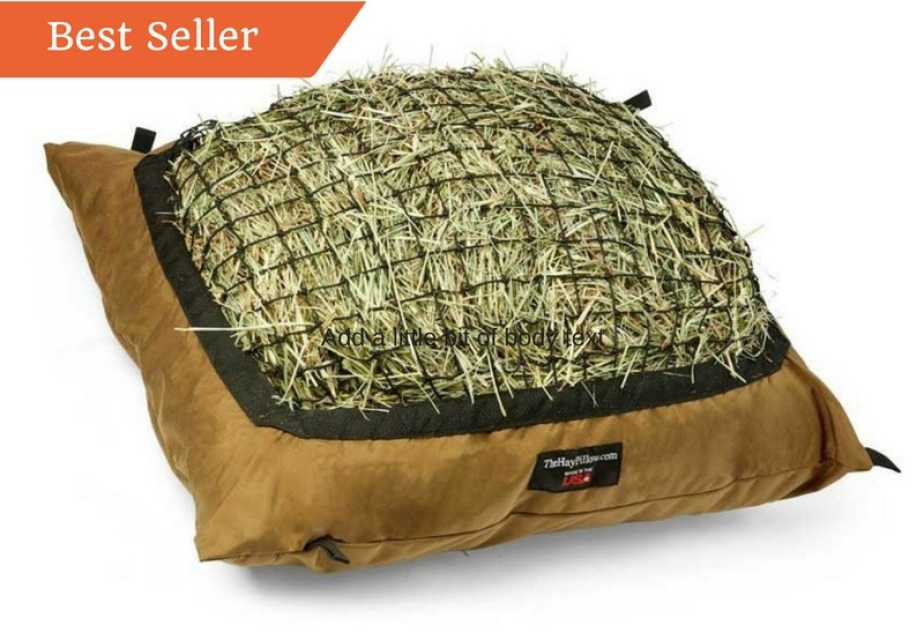 Slow Feeder Hay Bag  Feed on the Ground in Grazing Position