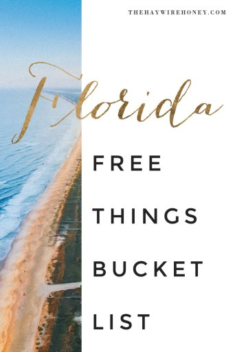 """Free Things"" Bucket List for Central Florida"