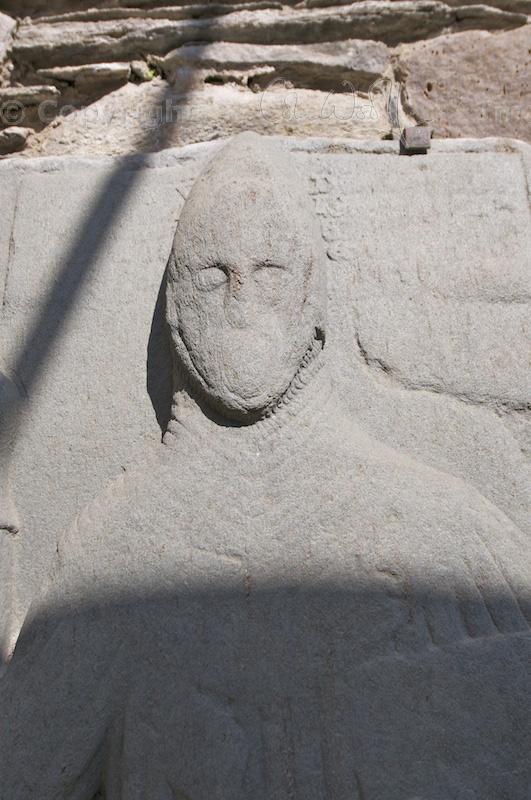 Kilmory Knap - Detail of gravestone