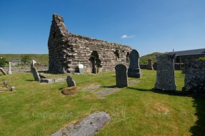 Kilmory Knap Chapel - outside