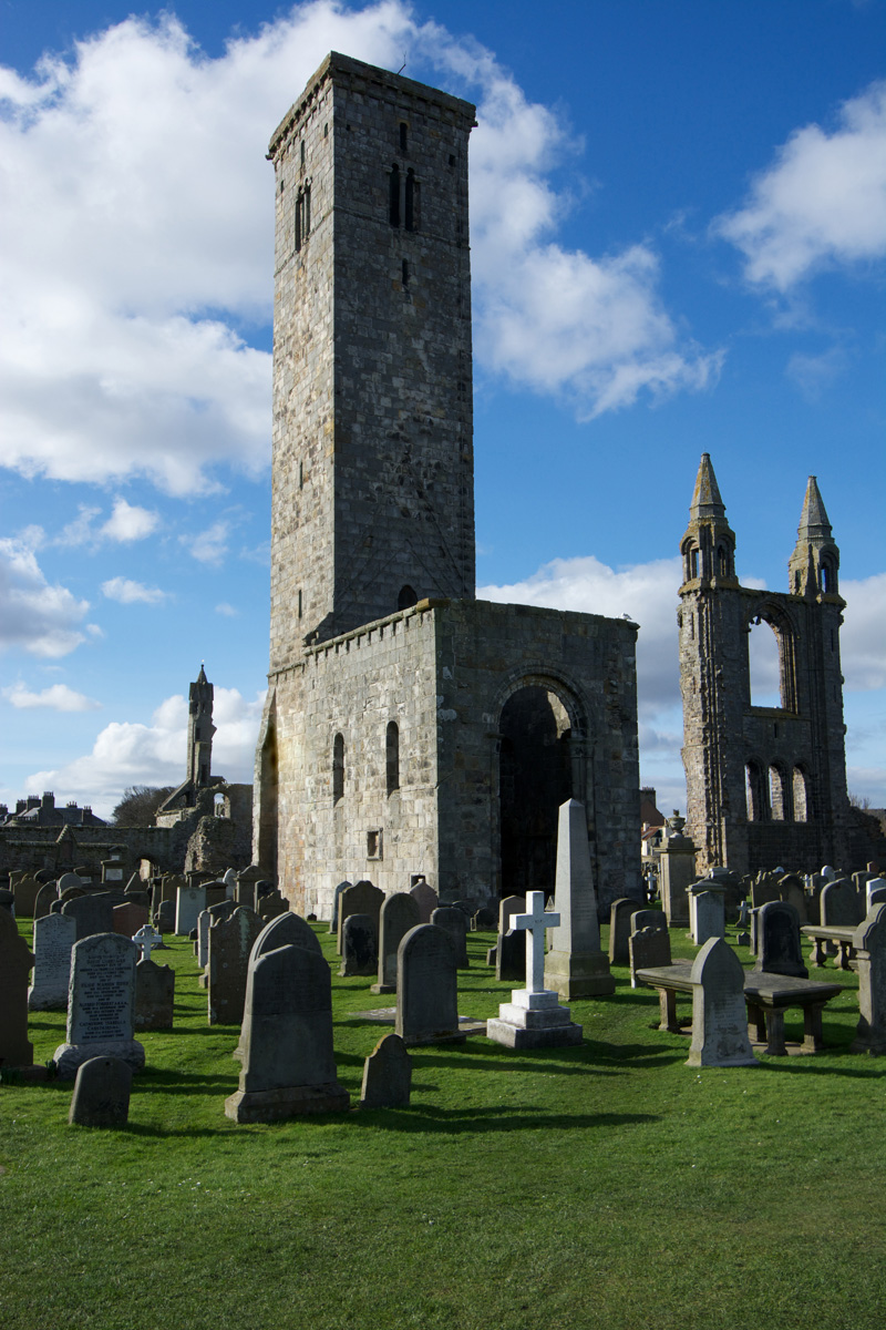 St Andrews: the legacy of St Rule