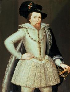 James VI and I by John de Critz the Elder