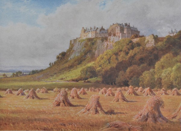 Bonnie Scotland - Stirling Castle from the King's Knot