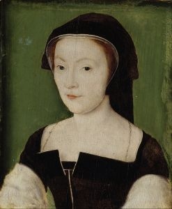 Marie of Guise, wife of James V, att. to Corneille de Lyon (1537)