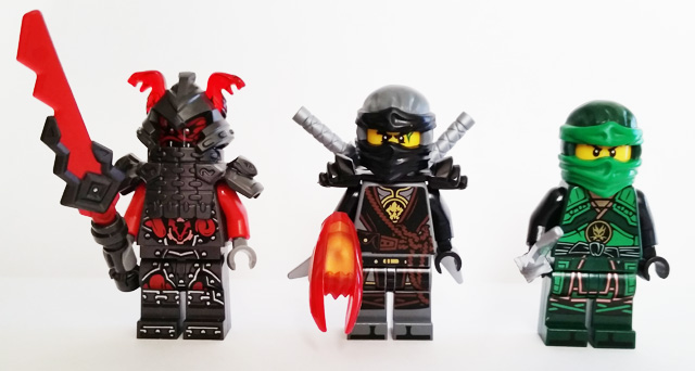 LEGO Ninjago Destinys Shadow Review Lloyds Gift  TheHDRoom