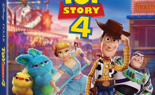 Toy Story 4 4k Blu Ray Dvd Digital Release Dates And