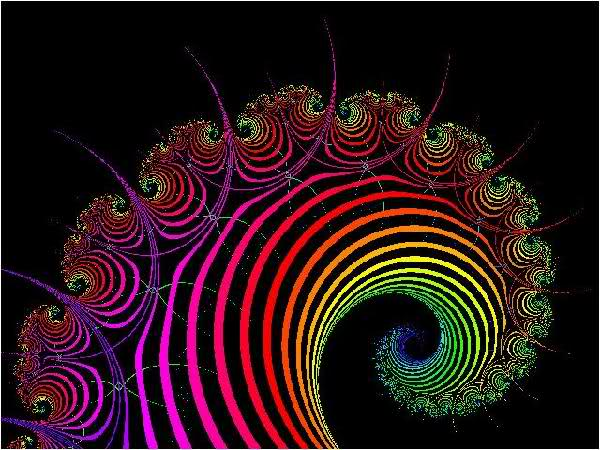 fractal time spiral