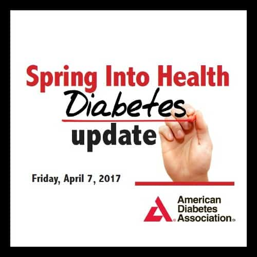 Spring Into Health Diabetes Update