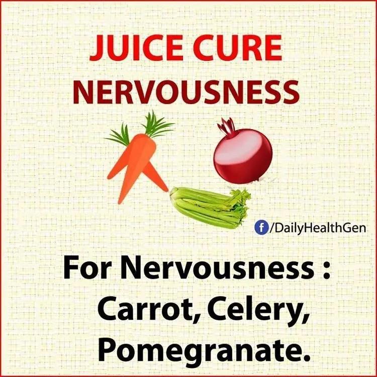 juice cure nervousness