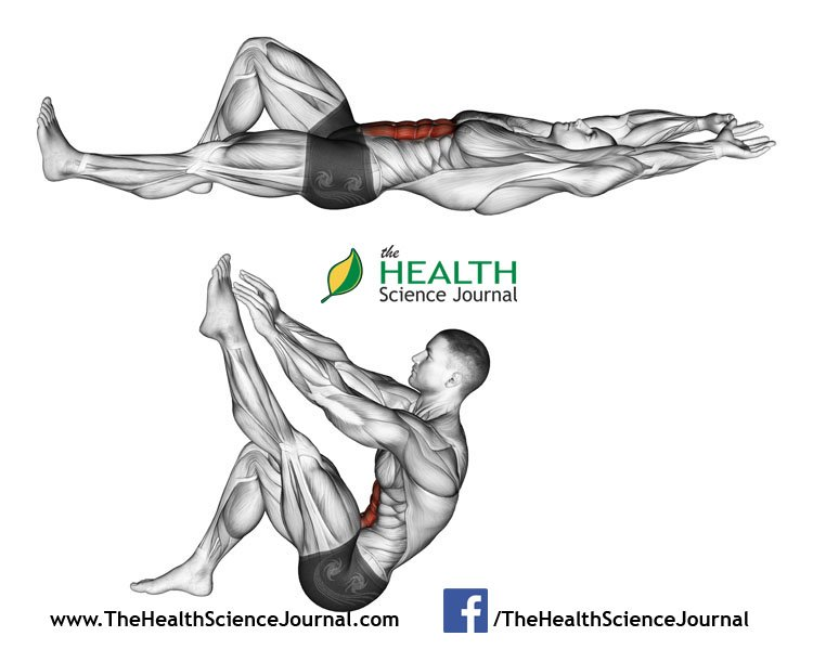 © Sasham   Dreamstime.com - Exercising for bodybuilding. Flexion of the trunk with the legs pulling up the leg