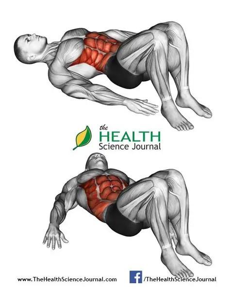 © Sasham   Dreamstime.com - Fitness exercising. Alternate Heel Touchers