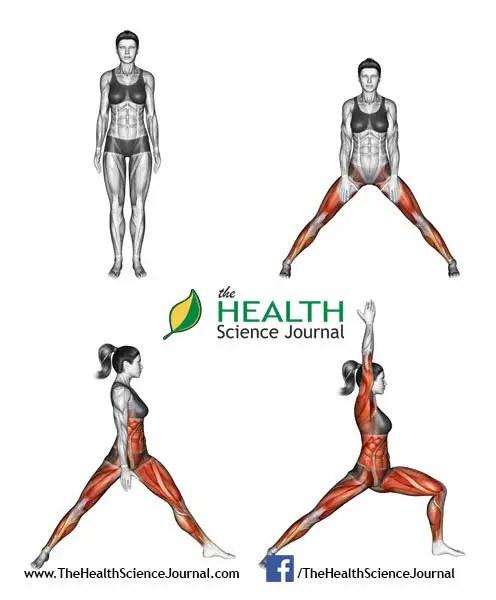 © Sasham   Dreamstime.com - Yoga exercise. Warrior Pose. Virabhadrasana. Female