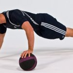 One Arm Push-Up with Support